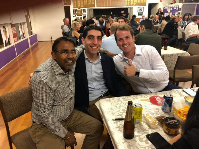 Attending Trivia Night of Paul Hamer MP (Proud local member of BoxHill) and met many proud comrades from Eastern Metropolitan.